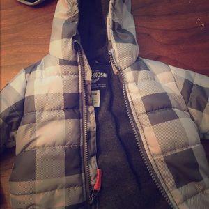 Infant boys puffer coat 3-6 month